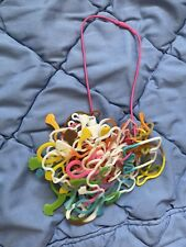 37 Silly Bandz On Necklace Connector