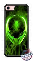 Extraterrestrial Alien Head Customized Phone Case For iPhone Samsung LG Google