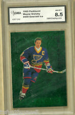 1995 Parkhurst Wayne Gretzky #449 Emerald Ice Insert GMA 8.5 NM-MT+