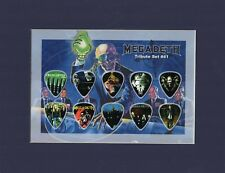 Megadeth Matted Picture Guitar Pick Set Tribute Symphony Of Destruction