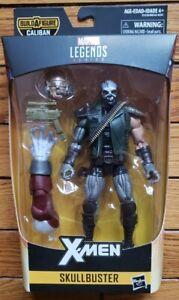 """Marvel Legends X-Men Skullbuster Action Figure Caliban BAF series 6"""""""