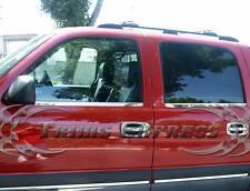 1999-2006 Chevy Silverado/GMC Sierra Crew Cab 4Pc Chrome Window Sill