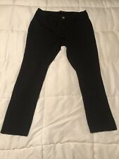 Women's Black Pants Size 1X Made By Almost Famous