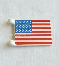 PLAYMOBIL WESTERN - drapeau americain - 3306 - 3773 - 3419