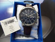 Pulsar  Solar  Quartz Stainless Steel and Leather band   100m  PZ6015