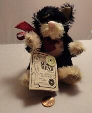 Boyds Bears Quayle D. Cattington - Jointed Mohair Cat 7""