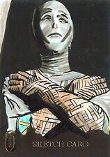 Hammer Horror Series 2 Sketch Card drawn by Jason Davies /1