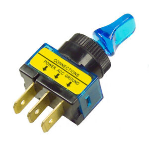 Grote Industries Toggle/Lever Style Switch BLUE 20 AMP 82-1912