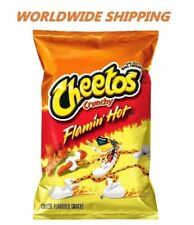 Cheetos Flamin' Hot Cheese Flavored Chips 9 Oz WORLD WIDE SHIPPING