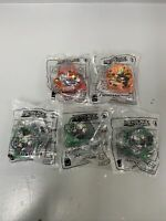 McDonald's Happy Meal Toys Set Of Five Of Bey Blades Burst 2,5,6 All Sealed New
