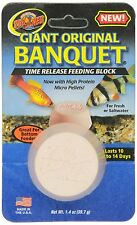 ZOO MED ORGINAL BANQUET GIANT ORIGINAL BLOCK RELEASE FEEDER FOOD FREE SHIP USA