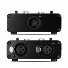 Little Bear KN102-2F 2 ways XLR A/B selector Switcher Box Mixer Sound Splitter