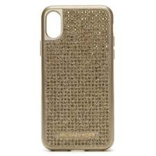 New Michael Kors diamante studded iPhone X case Phone case cover Gold