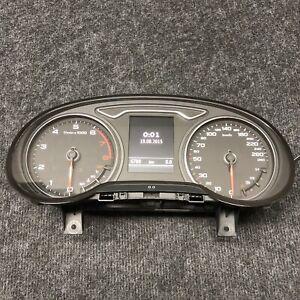 Original Audi A3 8V TFSI Instrument Cluster Tachometer Color Mfa Acc 8V0920870A