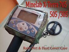 Minelab X-Terra 305 505 705 Metal Detector Rain Dirt & Dust Cover Case New