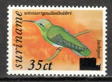 Suriname - 1993 Definitives birds overprinted -  Mi. 1430 MNH