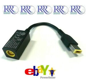 New Genuine Lenovo ThinkPad (Round to Slim Tip) Power Conversion Cable 0B47046