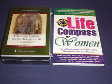 Teaching Co Great Courses DVDs      PHILOSOPHY RELIGION  MEANING of LIFE + bonus