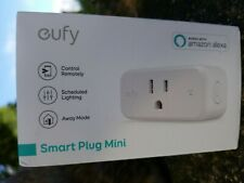 eufy Smart Plug Mini, Works With Amazon Alexa and the Google Assistant, Wi-Fi