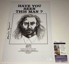 DAVID LYNCH Signed TWIN PEAKS 11x17 Photo IN PERSON Autograph PROOF JSA COA
