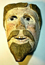 Vintage Indigenous Mexican Caballero Mask