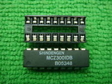 50p MCZ3001DB MCZ3001D MCZ3001 IC + 50p 18 PIN SOCKET