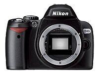 Nikon  D40  6.1MP.  Digital SLR Camera - Black (Body Only)