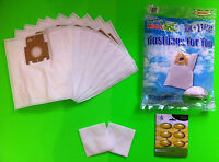 10 sacs d'aspirateur filtrants correspond à MIELE : 1200 ELECTRONIQUE ( Sac