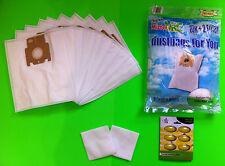 10 sacchetti aspirapolvere filtro adatto a MIELE: S 143 (sacchetto