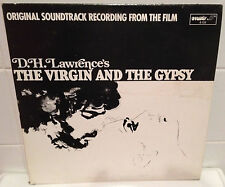 SUPER RARE! The Virgin And The Gypsy Soundtrack Vinyl LP  D.H. Lawrence  NM Wax!