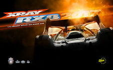 NEW XRAY RX8 - 2017 SPECS - 1/8 LUXURY NITRO ON-ROAD CAR from RC Hobby Land