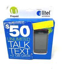 Samsung Repp Alltel Wireless Prepaid Android Phone- New in Box- Clean Imei/Esn