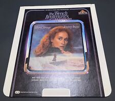 The French Lieutenant's Woman CED RCA Selectavision VideoDisc - Meryl Streep VTG