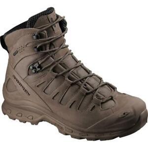 New Men's Salomon Quest 4D Forces Gore-Tex Waterproof Boots Size 9 Brown 381596