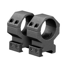 Heavy Duty 30mm Scope Rings High Rise 4 Screw For 1913 Picatinny Rail Mounts