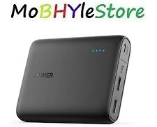 Anker PowerCore 10400 mAh Power Bank (Black) compatible for all Mobiles phones