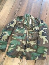 US Army Camo Cold-Weather-Field-Coat-8415-01-099-7835 MEDIUM Regular Chest 37-41