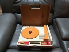 VINTAGE FISHER PRICE RECORD Player | 33 + 45 | IMMACULATE CONDITION | WORKS EX+