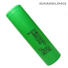 Samsung INR18650-25R Alto Consumo Li-ion Batería Recargable de 18650 2500 mAh Plano