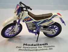 Lal yamaha tt250r de maisto en escala 1:18 modelo moto