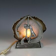 Art Deco Frankart Style Figural Light Lamp