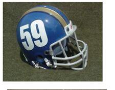 WINNIPEG BLUE BOMBERS 1957-59 THROWBACK MINI FOOTBALL HELMET