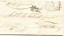 P4342    Lombardo Veneto, LOREO per Venezia 1842