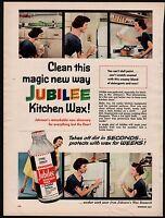1953 Johnson S Jubilee Kitchen Wax Print Ad Retro Vintagge Decor Advertising