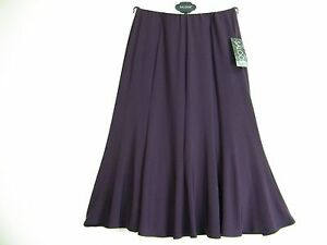 NEW SALOOS  92%POLYESTER 8% ELASTAINE LINED SKIRT 5 COLS SIZES 12 14 16 18 20 22