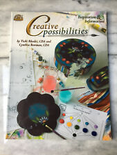Creative Possibilities Paint Book bY Vicki Rhodes CDA&Cynthia Bowman-New/unsed