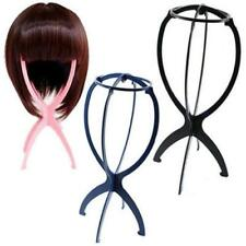 Stand Holder Folding Stable Plastic Durable Wig Hair Hat Cap Display Tool KS