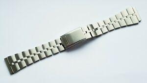 New Solid Links Fishbone Steel Watch Strap Bracelet For Seiko Bullhead Z040S