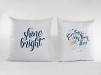 Decorative Christmas Pillow cases, Christmas throw pillow case