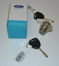 FORD AU BA FALCON DOOR LOCK BARREL - 2 X GENUINE FORD KEYS